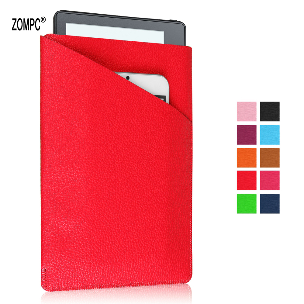 Luxury Business Universal 7 8 Tablet Wallet Pocket Soft Leather Case Sleeve Bag Pouch For Apple Samsung ASUS Kindle Fire