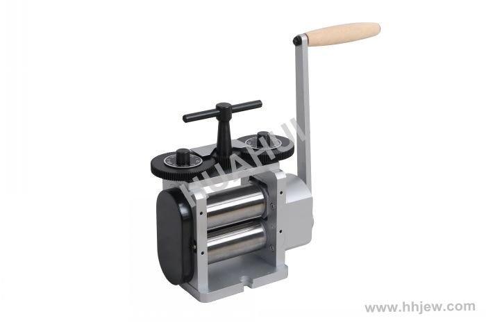 Bonne qualité 110mm laminoir plat, sertissage et presse à comprimés, Machine à pression, table manuelle, presse à pilules manuelle