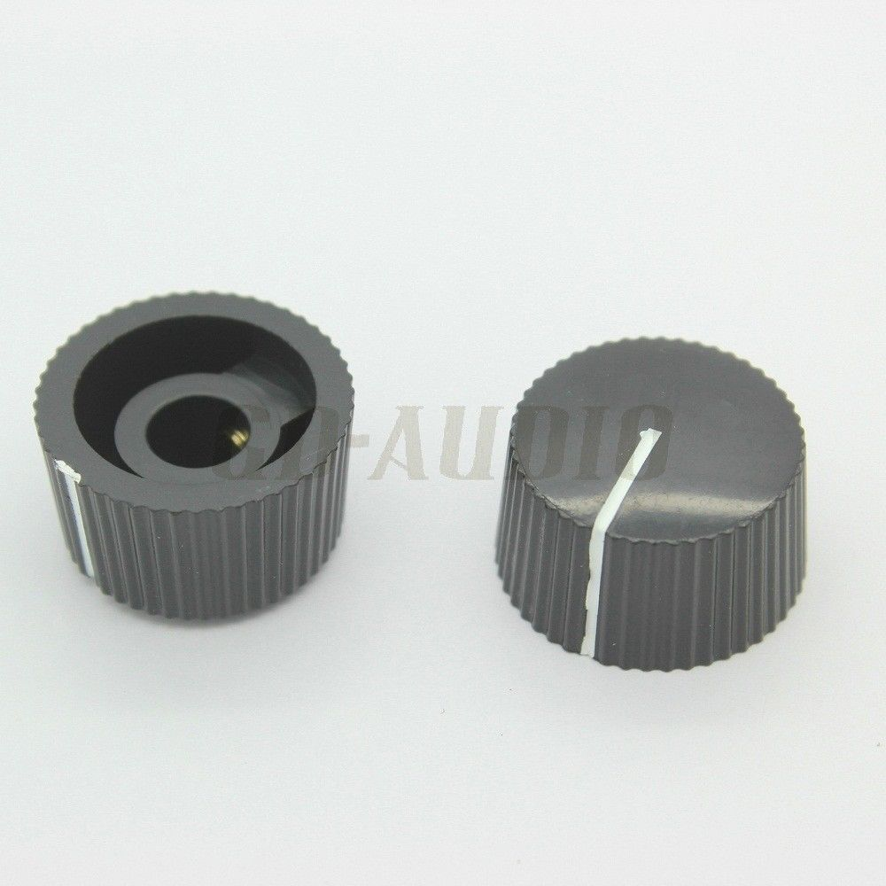 21x12mm black ABS plastic 1/4 shaft hole rotary switch knob for guitar AMP cabinet effect pedal overdrive radio stomp box