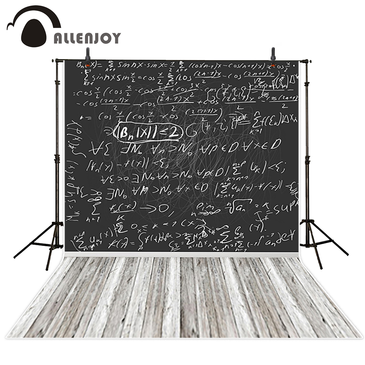 Allenjoy vinyl backdrops for photography Mathematics SCHOOL Chalk blackboard learning graduate from school for photo photography michael hoy mathematics for economics 2e ise