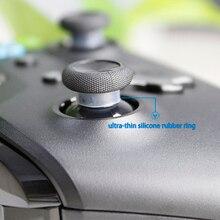 AOLION Ultra ince silikon kauçuk halka Sony Playstation 3/4 NS Pro XBOX ONE/ 360 denetleyici kauçuk korumak joystick