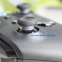 AOLION Ultra thin silicone rubber ring for Sony Playstation 3/4  NS Pro XBOX ONE/ 360 Controller Rubber protect joystick