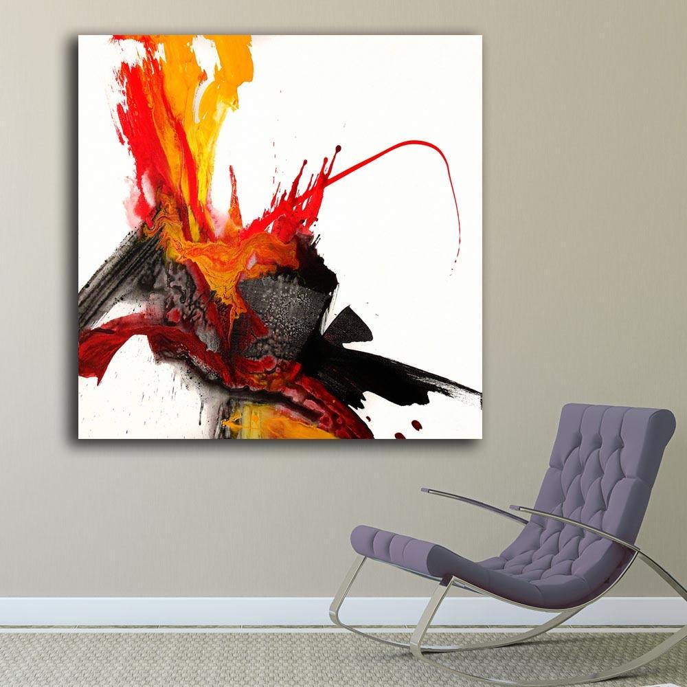 Pop Art Phoenix Rising Oil Painting Wall Art Paiting
