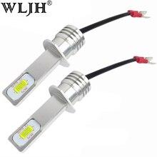 2 шт., автомобильные светодиодсветодиодный лампы 12 В 24 В H1 72 Вт 1000 лм