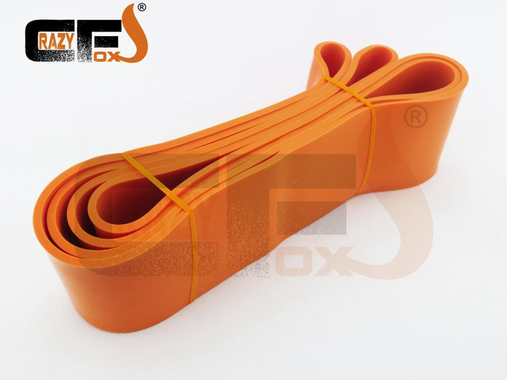 Эспандеры/резинки для фитнеса/закатывающийся группа - Цвет: Оранжевый