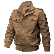 new Plus Size Military Jacket Men Spring Autumn Cotton Pilot Jacket Coat Army Men's Bomber Jackets Cargo Flight Jacket Male 6XL цена 2017