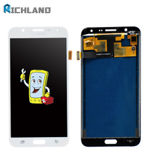 J700F LCD For Samsung Galaxy J7 2015 J700 Case Display Touch Screen Assembly SM-J700F