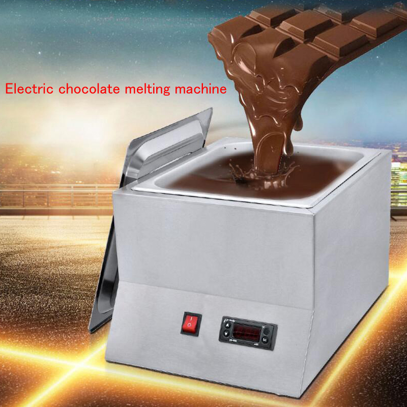 Chocolate Melting Pot Electric Heating Furnace Chocolate Melting Machine Commercial Chocolate Melting Furnace FY-QK-620 shipule multi function electric commercial chocolate melting tempering coating machine price
