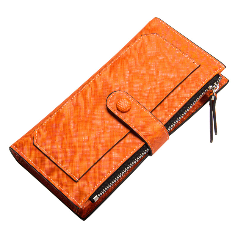 Leather Wallets Women Wallet Long Designer Coin Purses Female Clutch Phone 2017 Credit Card Holder Solid Candy Color Hasp Girl baellerry women wallets business fashion leather long women purse credit card holder coin purses solid lady clutch free shipping