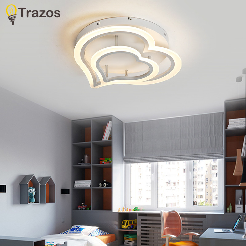2018 Surface Mounted Modern Led Ceiling Lights For Living Room luminaria led Bedroom Fixtures Indoor Home Dec Ceiling Lamp цена