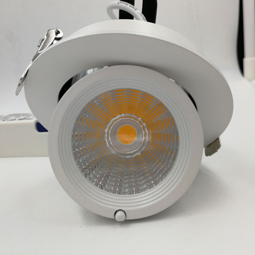 New COB LED Trunk <font><b>light</b></font> 10W 12W 15W 20W 25W 30W 40W Adjustable recessed Super Bright Indoor <font><b>Light</b></font> cob led downlight