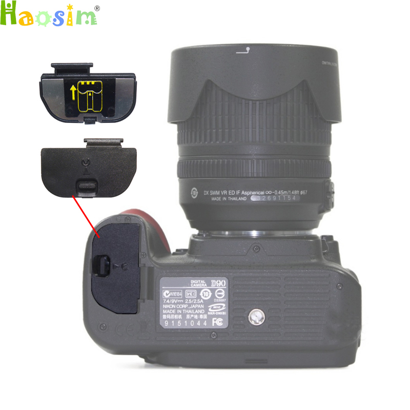 Battery Door Cover for nikon D3000 D3100 D3200 D3300 D400 D40 D50 D60 D80 D90 D7000 D7100 D200 D300 D300S D700 Camera Repair 2x 2200mah en el3e enel3e battery usb charger for nikon d90 d80 d300 d300s d700 d200 d70 d50 d70s d100 d 100 d 300 d 70 d 90 slr