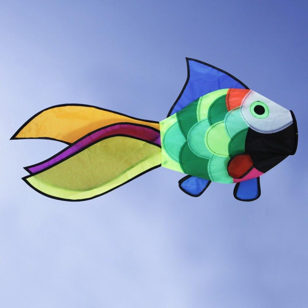 Նոր ծիածան ձկների ուրուր Windsock բացօթյա - Արտաքին զվարճանք և սպորտ - Լուսանկար 4