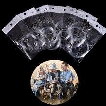 28 шт. рулон фидера рыболовный крючок Карп муха снасти Peche рыба червь приманки из свинца голова проволочная линия привязанная приманка углеродистая сталь рыболовный крючок