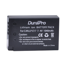 1pc LP E17 LPE17 LP E17 7 4V 1040mAh Rechargeable Li ion Battery for Canon EOS