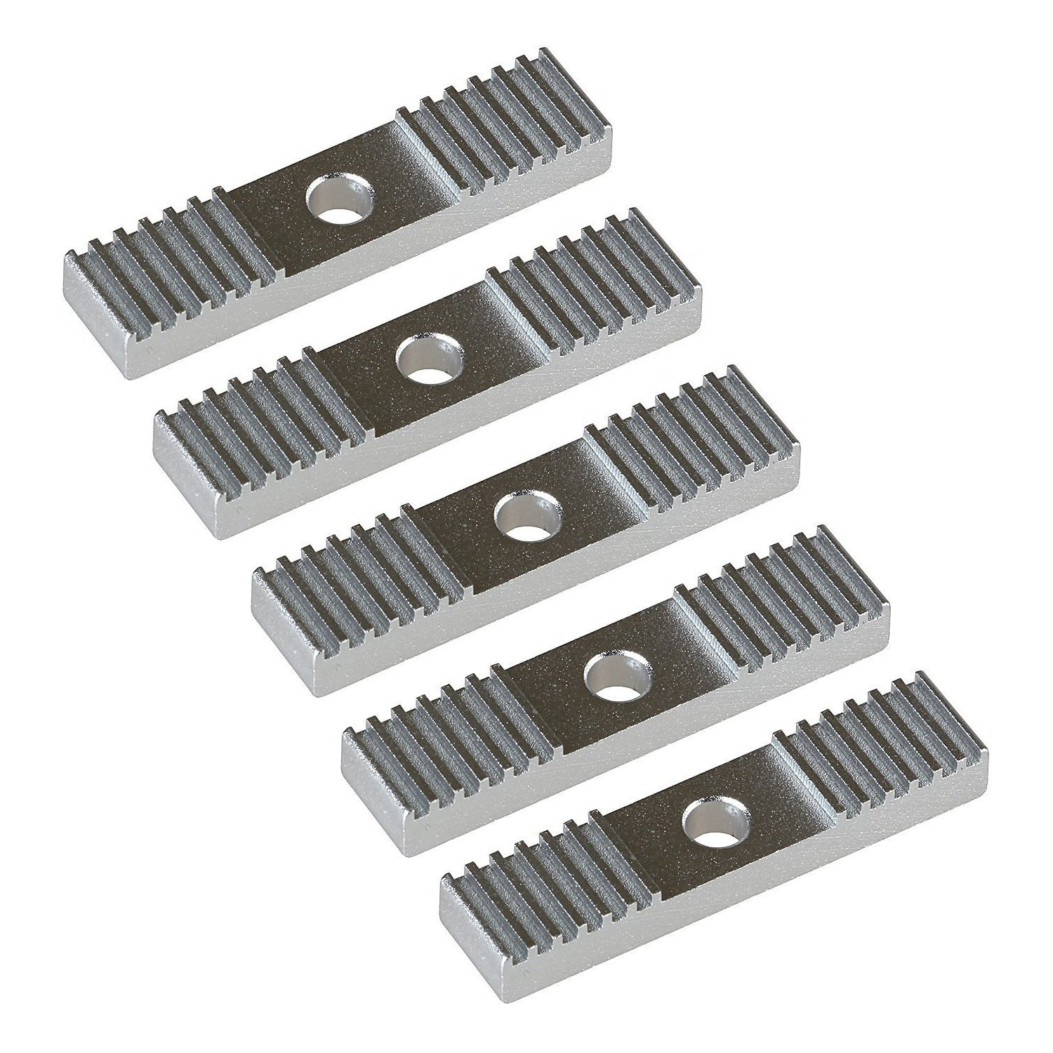 5pcs 2GT Timing Belt Aluminum Gear Clamp Mount Block Pack