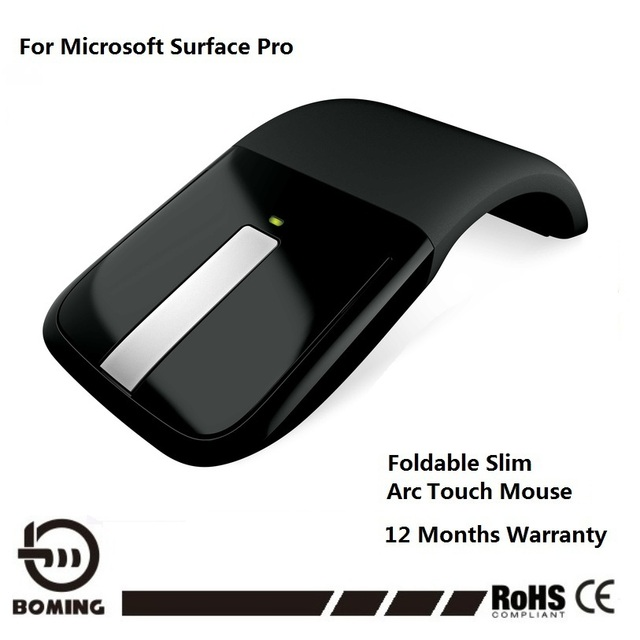 1dba34f6974 Hot Item Wireless Mouse For Microsoft Surface Arc Touch 3D Computer Mouse  2.4Ghz Foldable Mouse For PC & Laptop Free Shipping