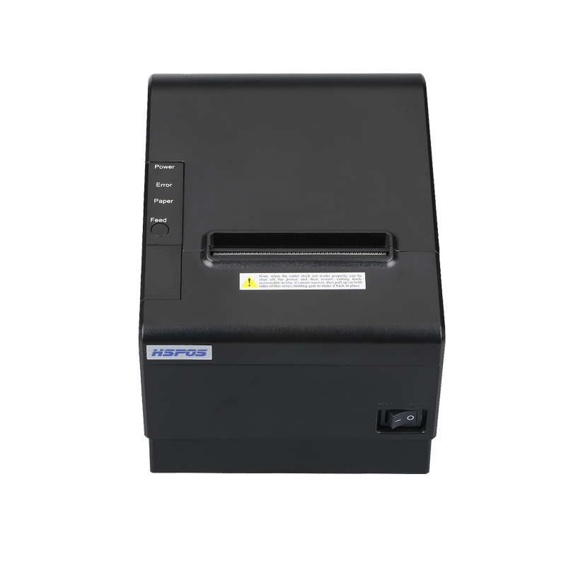 High Printing Speed 250mm S 80mm Kitchen Thermal Receipt Printer USB And Serial Interface