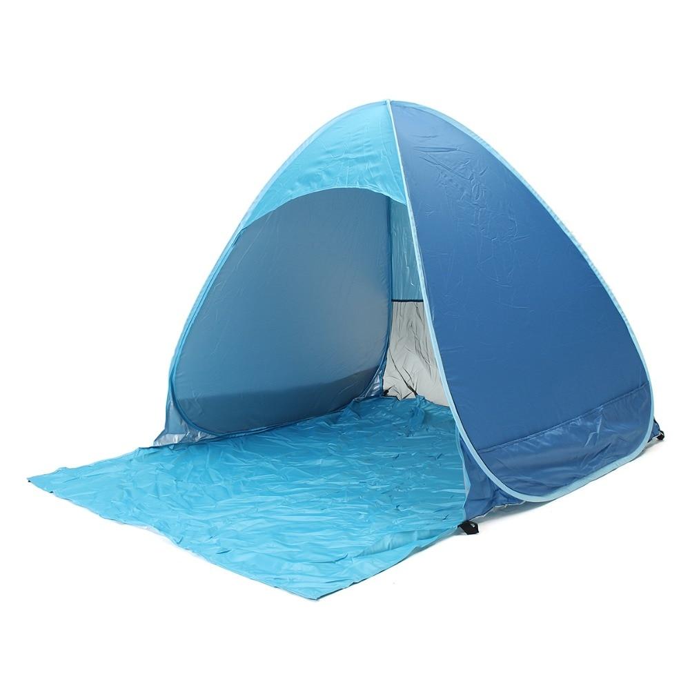 1set Full Automatic Tent beach tent festival shelter childrens UPF 40 sun screen wind break quick  sc 1 st  AliExpress.com & Online Buy Wholesale tent beach automatic from China tent beach ...