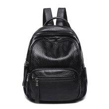 2017 Пояса из натуральной кожи Для женщин Рюкзаки большой Ёмкость плеча Дорожные сумки рюкзаки для девочек-подростков школьные сумки винтажные C276