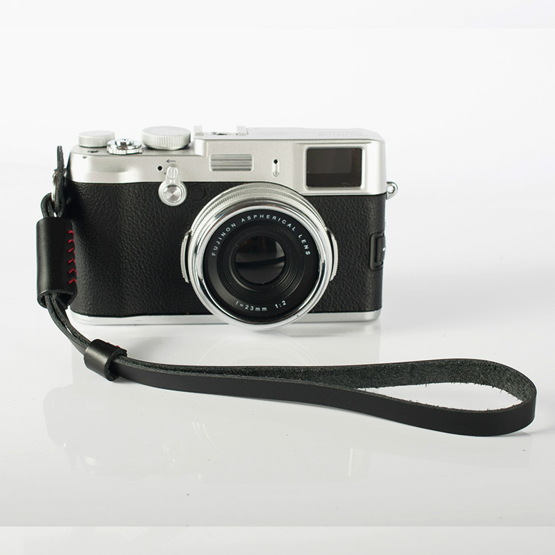 fashion Vintage Genuine real Leather Camera hand strap DSRL Handmade Higher quality - Digital_online007 store