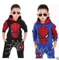 BS-158 Marvel Comic Clássico Spiderman Traje Criança, crianças meninos superhero fantasia fantasia de carnaval fantasia de Halloween vestido de festa