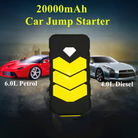 2016 Winter New High Capacity 69800mAh Car Jump Starter High Discharge Rate Auto Power Bank Motor