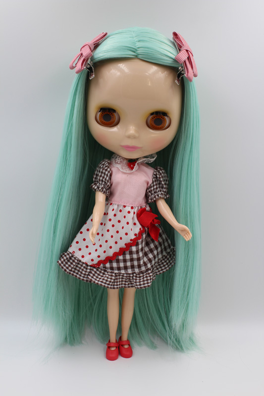 Free Shipping big discount RBL-287DIY Nude Blyth doll birthday gift for girl 4colour big eyes dolls with beautiful Hair cute toy free shipping big discount rbl 331 diy nude blyth doll birthday gift for girl 4colour big eye doll with beautiful hair cute toy