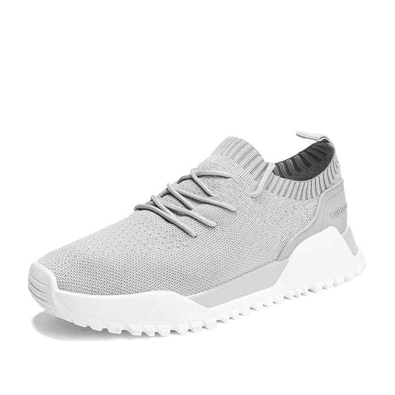 Mens Sport Running Shoes 2018 Lace-up Exercise Couple Sneakers Breathable Mesh Letter Shoes Size 39-44 Sneakers for Men