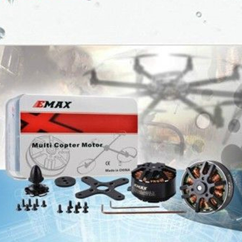 EMAX MT Series MT2808 850KV Outrunner Brushless Motor for Multi-copter emax gt 5345 07 outrunner brushless motor for r c helicopter black 12cm