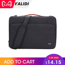 b2d27e47dfbe KALIDI Laptop Bag Sleeve 11 12 13.3 14 15.6 Inch Waterproof Notebook Bag  For Macbook Air