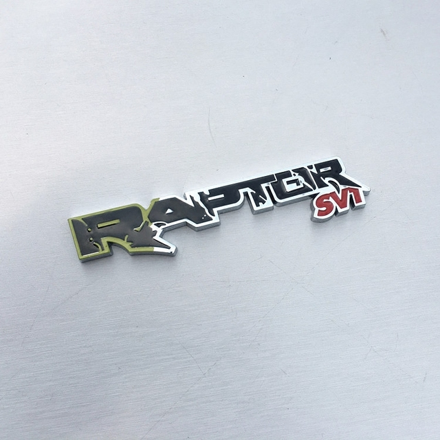 1 шт. 3D металлический RAPTOR SVT значок задней двери Задняя эмблема Turnk автомобильные наклейки для Ford F150 2010-2014 Автомобильный Стайлинг