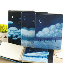 Neverland Loose Leaf Notebook Big Coil Spiral Hard Cover Diary Lined Papers Journal Study Notepad beautiful flower journal diary hard cover lined papers cute planner school study notebook agenda notepad