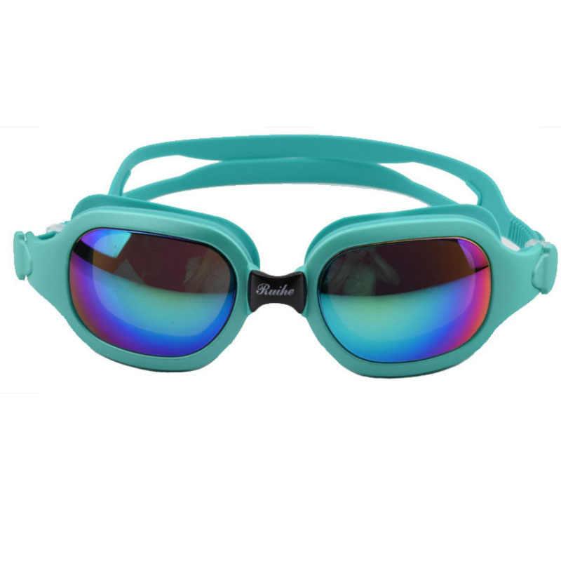 Nieuwe zwembril Vrouwen Zonnebril Zwemmen professionele Anti Fog Waterdicht Zwemmen brillen gafas natacion Duiken masker