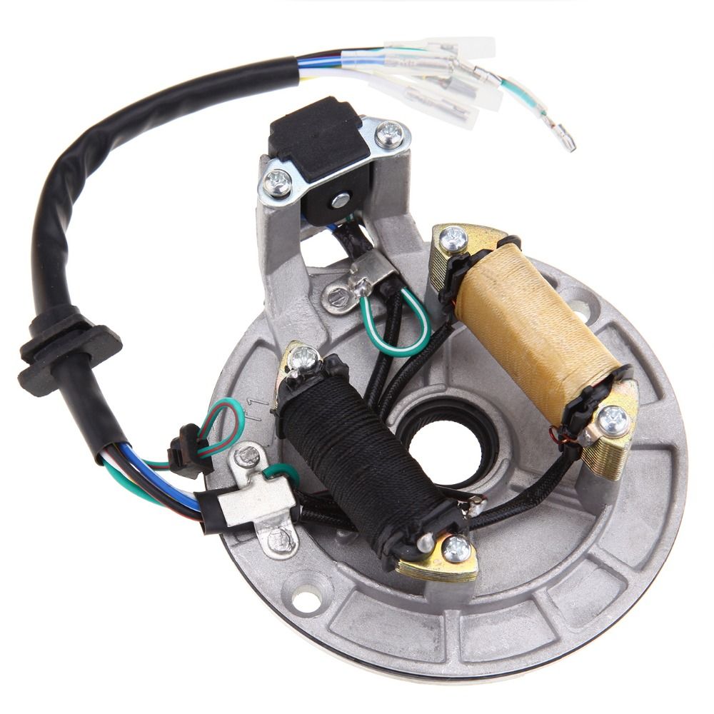 Free Shipping Magneto Stator Plate 70cc 90cc 110cc 125cc For Sunl Go Kart Wiring Harness Chinese Dirt Bike Atv
