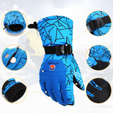 Winter Outdoor Sports Men Women Windproof waterproof Warm Cycling Ski Snow Snowmobile Motorcycle snowboard Skiing Gloves