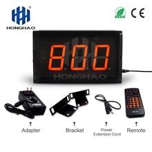 цена на Honghao LED 3 inch 3 digit 999 days count up countdown timer