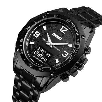d3e67b260dff Azul del reloj SKMEI relojes deportivos para hombres