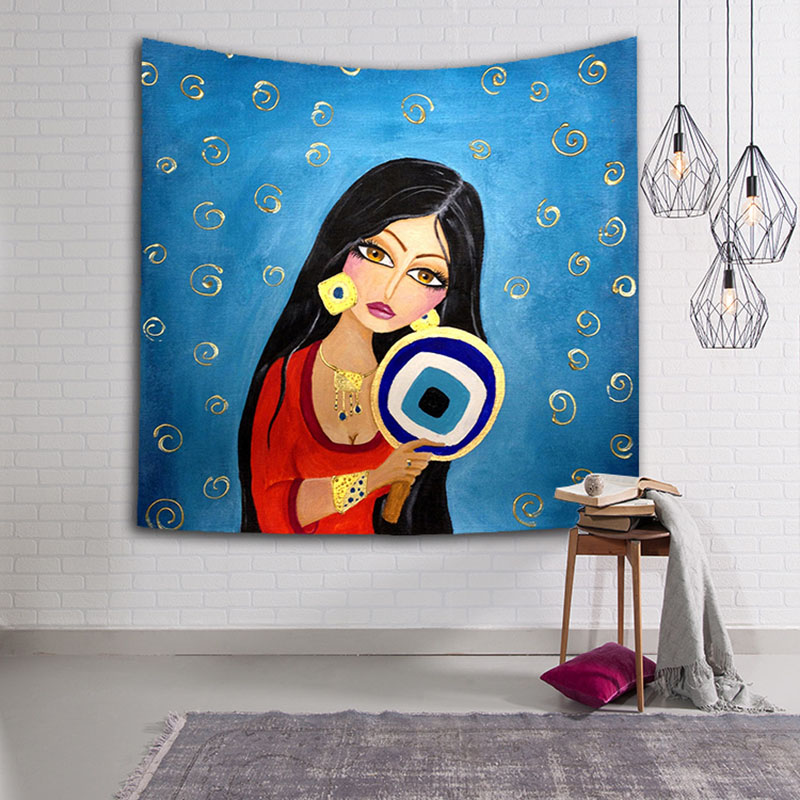 278d8f62e68cb Buy indian women wall decoration and get free shipping on AliExpress.com