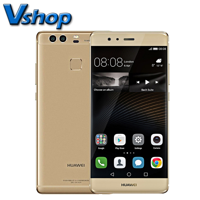 Original Huawei P9 Plus VIE-AL10 RAM 4GB + ROM 64GB / 128GB 5.5 inch Android 6.0 Kirin 955 Octa Core 4G LTE Cellphone 3 Cameras