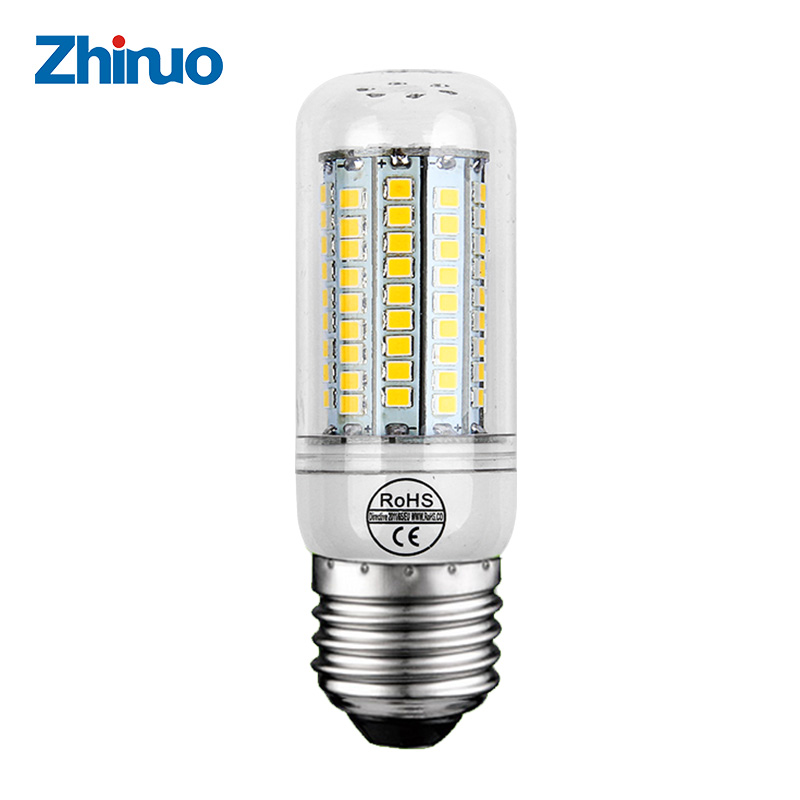 220v e27 led bulb smd 2835 lampe led light led corn bulb 3w 4w 5w 6w led chandelier bedside lamp. Black Bedroom Furniture Sets. Home Design Ideas