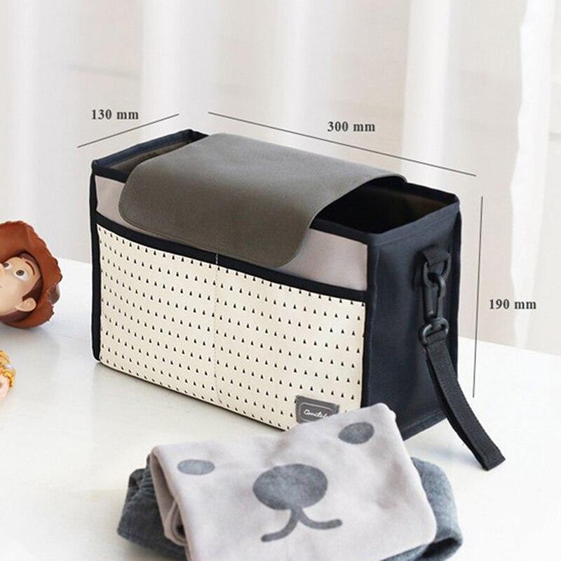 HTB1Yui7Kk9WBuNjSspeq6yz5VXaN Baby Stroller Bag Nappy Diaper Mummy Bag Hanging Basket Storage Organizer Baby Travel Feeding Bottle Bag Stroller Accessories