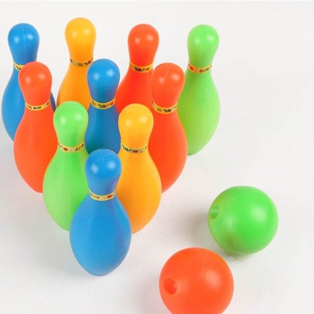 Игрушка спортивные, для боулинга бутылка мини диаметр Боулинг дети взаимодействие Досуг развивающий мяч набор Забавный открытый малыш