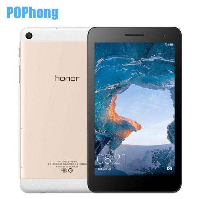 Huawei Honor Play Планшеты 4 г LTE одной сим-карты 2 ГБ Оперативная память 16 ГБ Встроенная память SC9830I 4 ядра 7 дюймов ПК Android 6.0 IPS емкостный Экран s