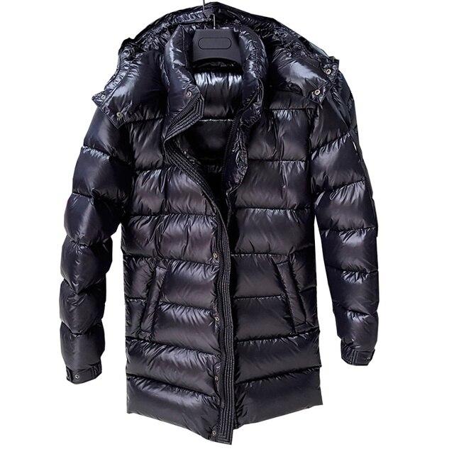 7a4c14c9eb05d Diseñador de lujo por los hombres chaqueta abajo chaqueta 90% pato abajo Parka  invierno caliente