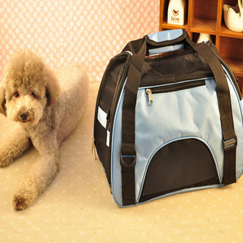 43*21*30cmPet Carrier Case Travel Tote Shoulder Bag Pet Dog Portable Home Bed Crate Cage Mini Puppy Cat Travel Soft Carrier Case 1