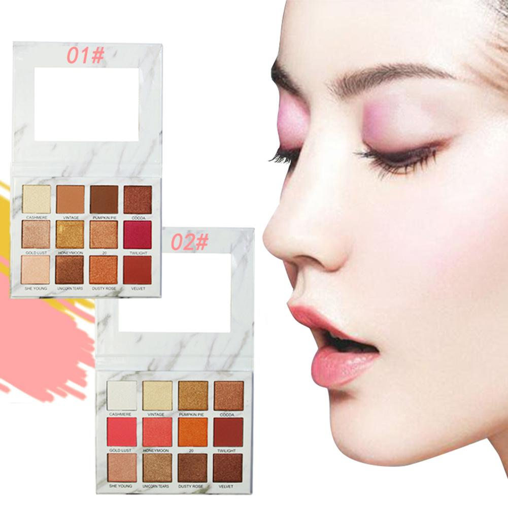 Beauty Essentials Lameila 16 Colors Natural Makeup Eye Shadow Pearlescent Matte Earth Tone Makeupbrighten Skin Colour Dress Up Your Beauty