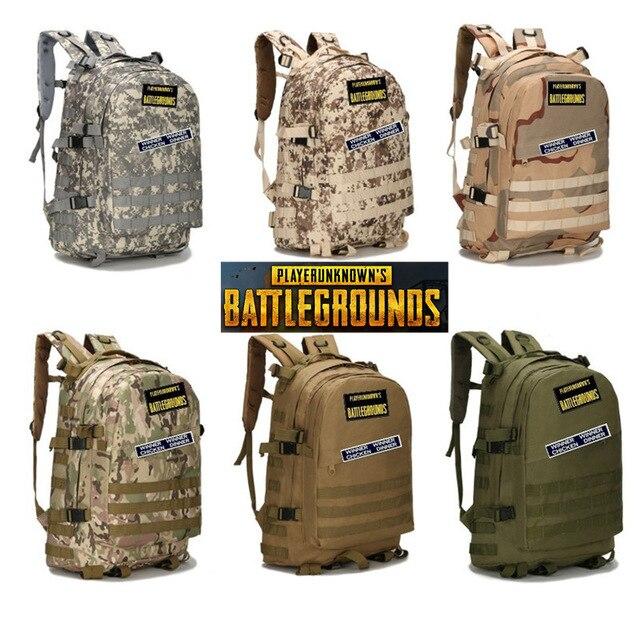 FPS PUBG Playerunknowns Battlegrounds Winner Chicken Dinner Level1-3 Instructor Backpack Multi-functional Backpack Multicolor