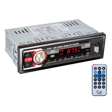 Car Radio 1 Din Bluetooth LED Display FM/SD/MMC/USB/AUX Input Autoradio MP3 Player аудио для авто bluetooth car mp3 2015 bluetooth mp3 mp3 fm usb sd mmc
