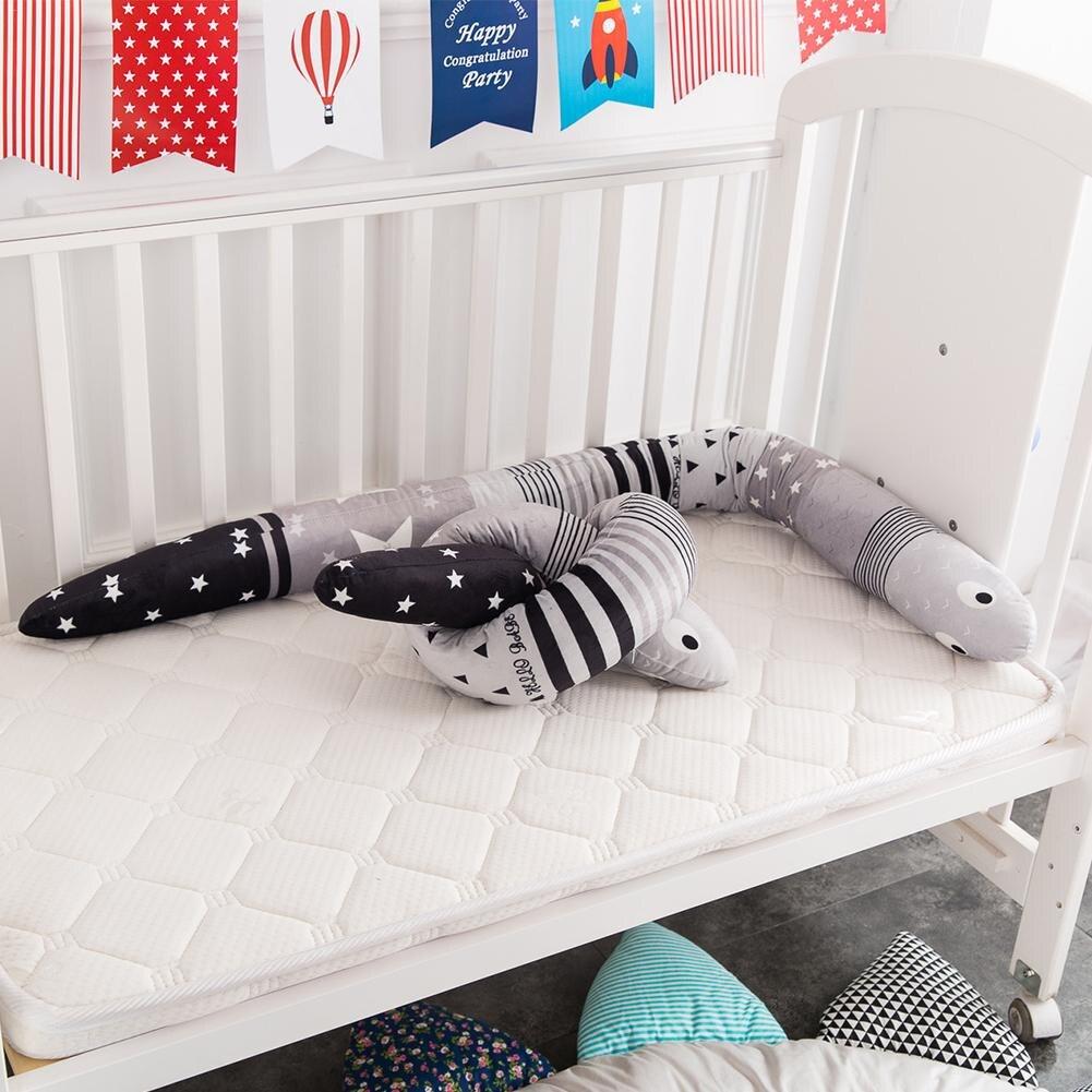 1,5 Mt Länge Babybett Cartoon Komfort Kissen Neugeborenen Krippe Gehäuse Baby Stoßstangen Bettwäsche Zubehör Für Infant Room Decor Cunas